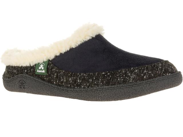 Kamik Nutmeg Zapatillas de Casa Mujer, negro/blanco